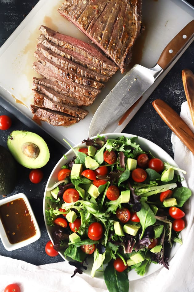 File 2 - Miso Marinated Steak Salad with Avocado