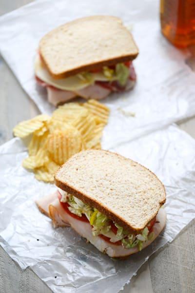 Italian Club Sandwich Image