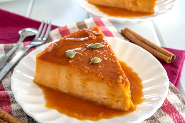 Pumpkin Flan Photo