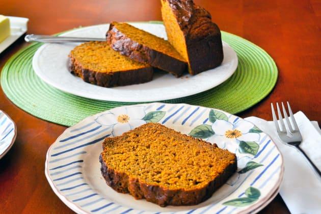 Healthy Pumpkin Bread Photo