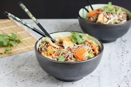 Sesame Tofu Noodles