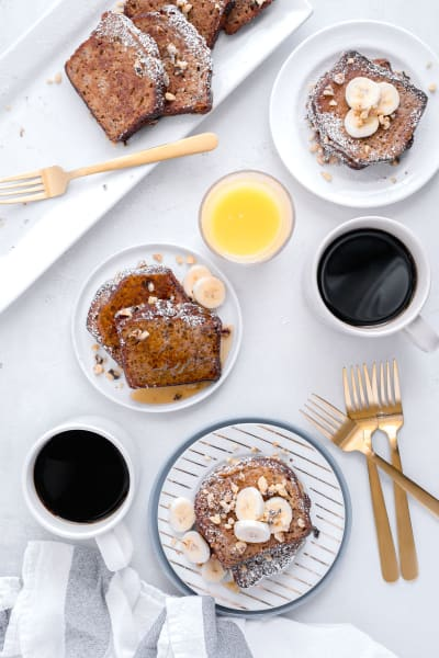 Gluten Free Banana Bread French Toast Picture