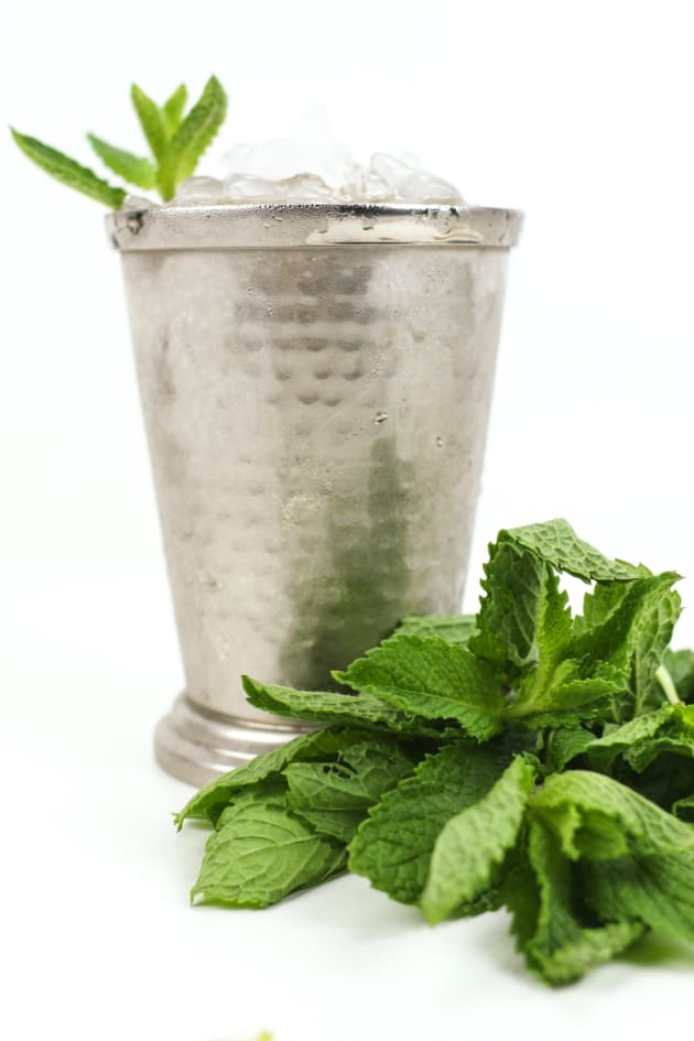 Honey Whiskey Mint Julep Image