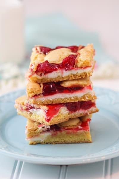 Cherry Cheesecake Bars Image