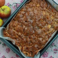 Apple Cake with Sweet Garam Masala