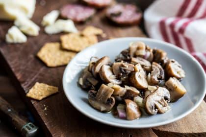 Marinated Mushrooms: Antipasti Superstar