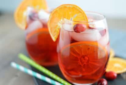 Cranberry Orange Sangria