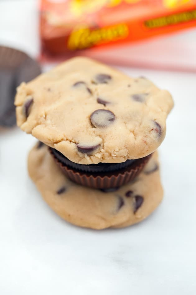 Stuffing Chocolate Chip Cookies Picture