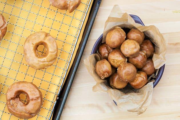 Old Fashioned Pumpkin Spice Doughnuts Photo