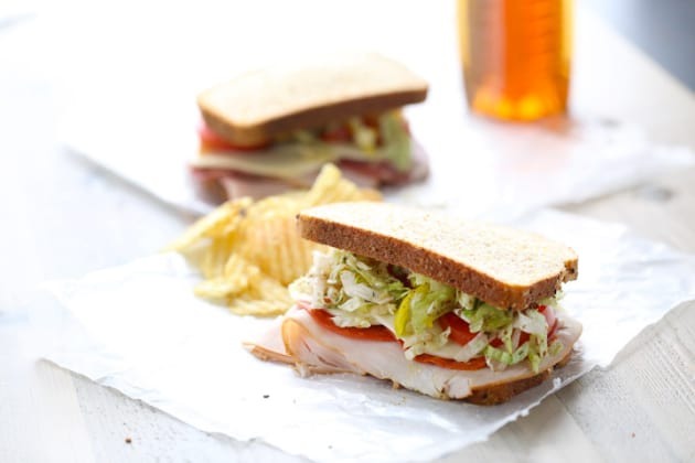 Italian Club Sandwich Photo