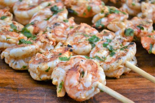 Cilantro Lime Grilled Shrimp Photo