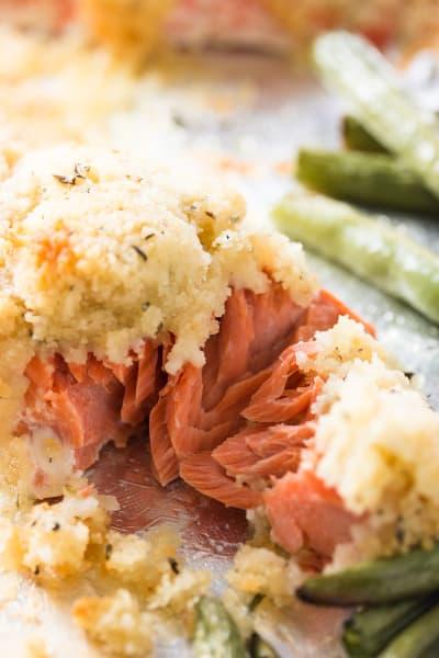 Salmon Sheet Pan Dinner Image