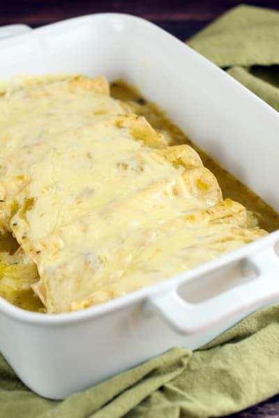 Gluten Free Enchiladas Picture
