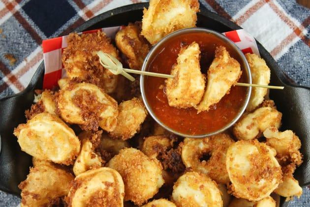 Fried Tortellini Image