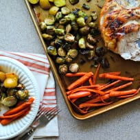 One Pan Honey Roasted Turkey and Vegetables Recipe