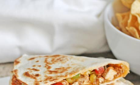 Spicy Tofu Quesadillas Picture