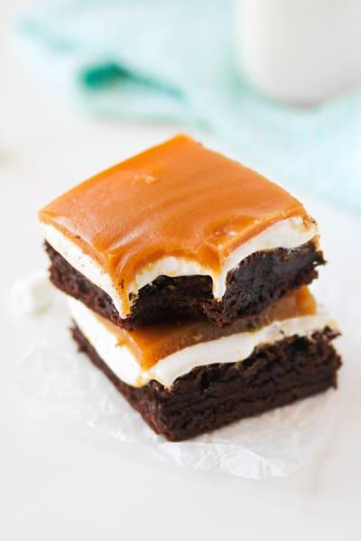 Fluffernutter Brownies Picture