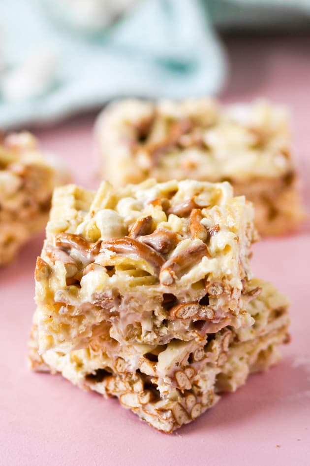Junk Food Marshmallow Squares Picture