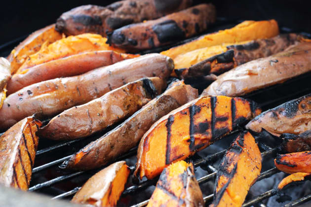 Grilled Sweet Potatoes Picture