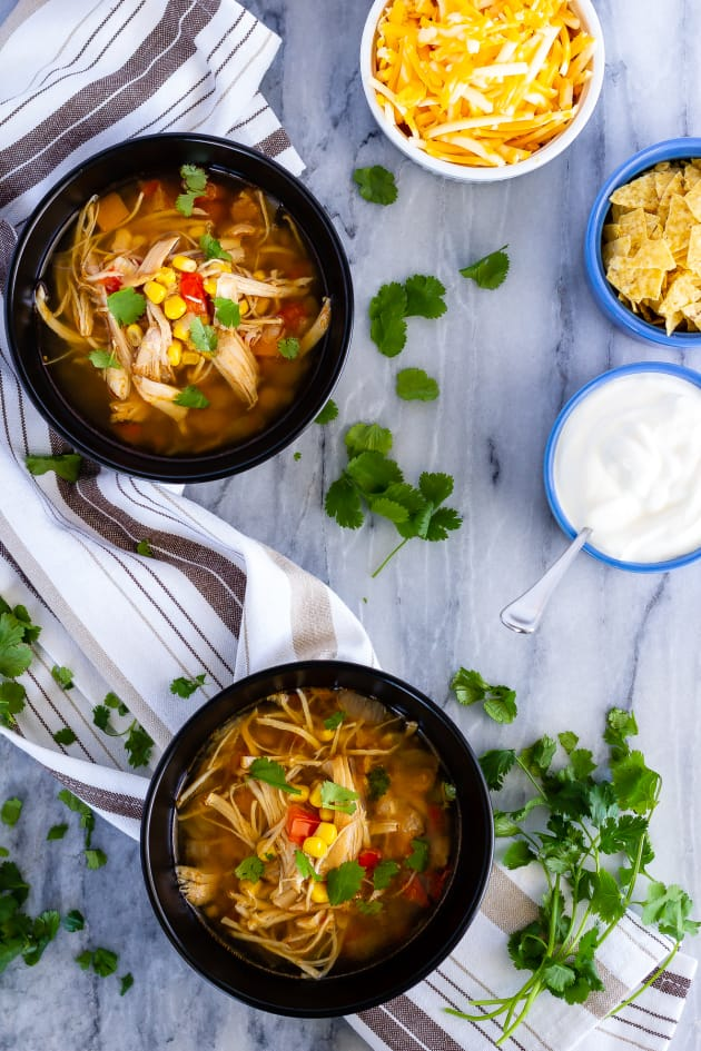 Instant Pot Chicken Taco Soup Image
