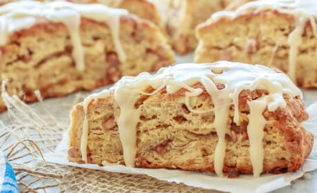 Apple Cinnamon Scones Recipe