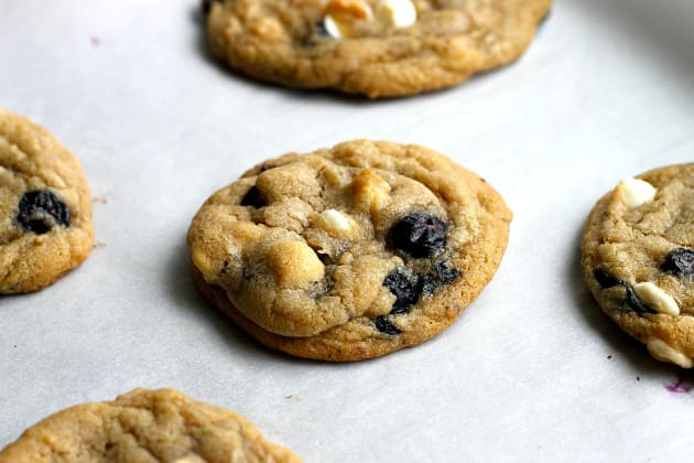 Blueberry and Cream Cookies Photo