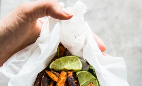 Mexican Sweet Potato Fries Picture
