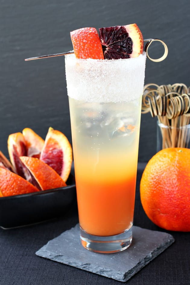 Blood Orange Gin Cooler Picture