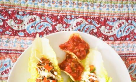 Taco Salad Boats Image