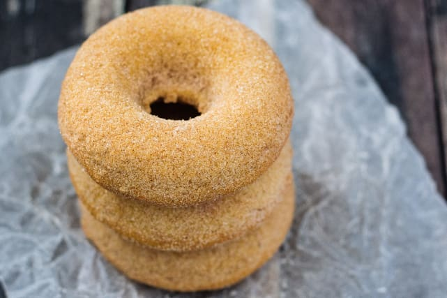 Baked Pumpkin Spice Donuts Recipe