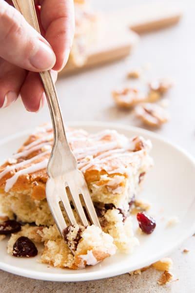 Cranberry Walnut Coffee Cake Image