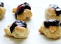 Easy Puff Pastry Blueberry Knots
