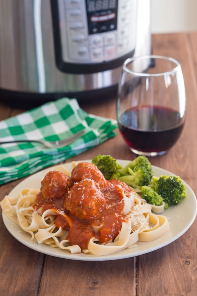 Instant Pot Gluten Free Turkey Meatballs Picture