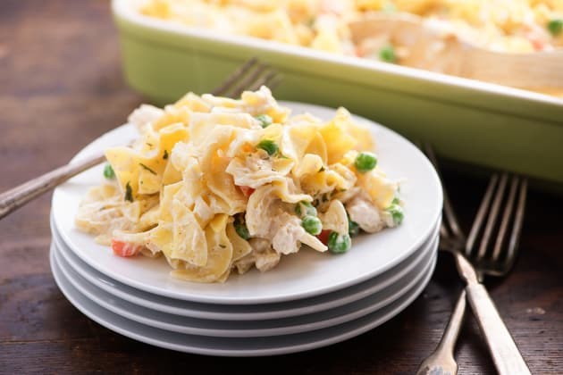 Chicken Noodle Casserole Photo