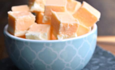 Orange Creamsicle Fudge Picture