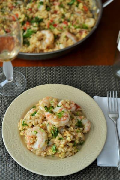 Shrimp Orzo Risotto Image