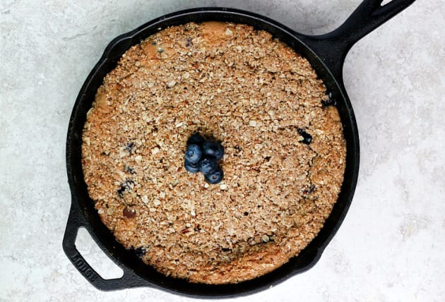 Blueberry Chocolate Chip Skillet Cookie Photo