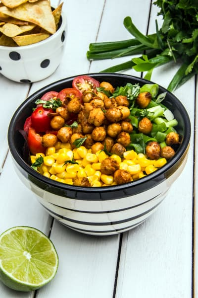 Avocado Lime Roasted Chickpea Salad Picture