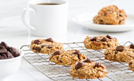 Chocolate Almond Breakfast Cookies Recipe