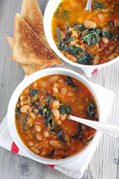 Tomato and Cannellini Bean Soup Picture