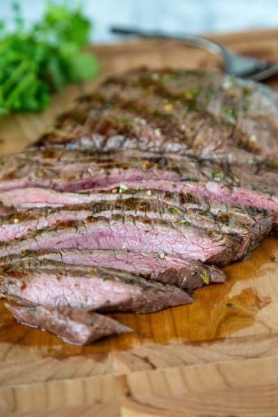 Grilled Chile Lime Flank Steak Picture
