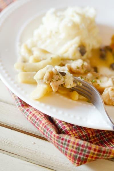 Gluten Free Creamy Chicken Noodles Pic