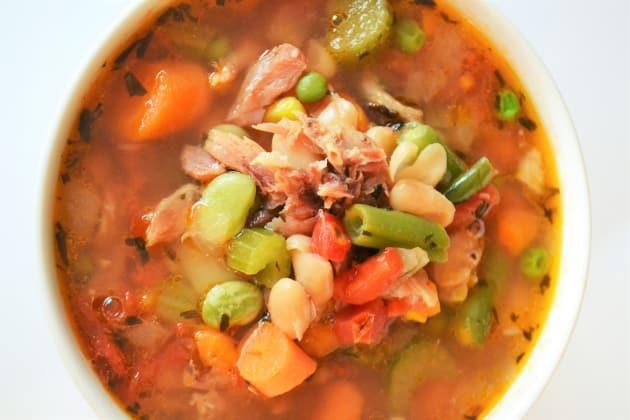 Ham Bone Soup Photo