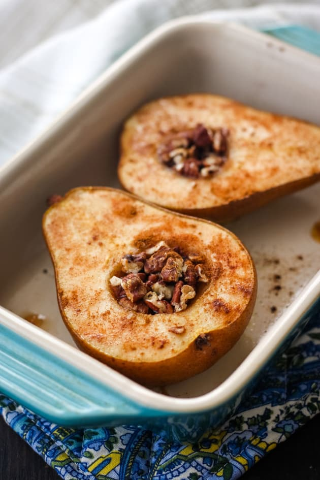 Toaster Oven Baked Pears Pic