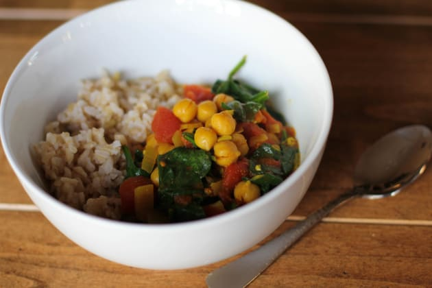 Indian Chickpea Stew Photo