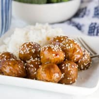 Kung Pao Chicken Meatballs Recipe