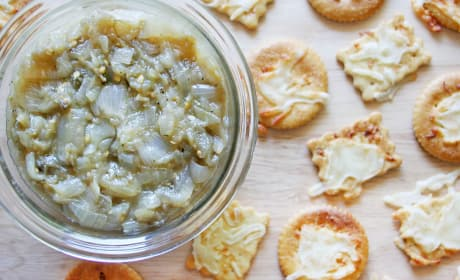 Caramelized Onion Eggplant Dip Recipe