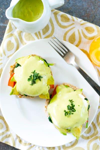California-Style Eggs Benedict Pic