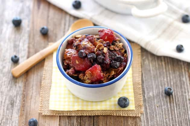 Blueberry Mango Crisp Image