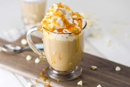 Boozy White Chocolate Milky Way Mocha